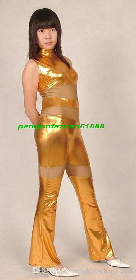 gold and silver metallic sexy outfits for women
