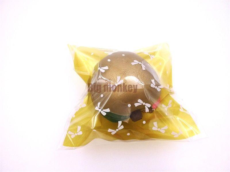Golden Apple Squishy Phone Straps Charm Pendant New Jumbo Fruits Squishies Juguetes de descompresión Juguete para niños Regalo 4 9k C