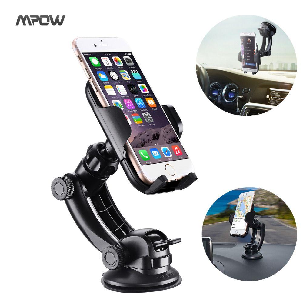 9aa749f0a17 Soporte Movil Bici Volante MCM12 Mpow Car Mount Grip Pro 2 Tablero  Ajustable Car Phone Holder Soporte Universal Cradle Windshield Cradle Soporte  Movil Por ...