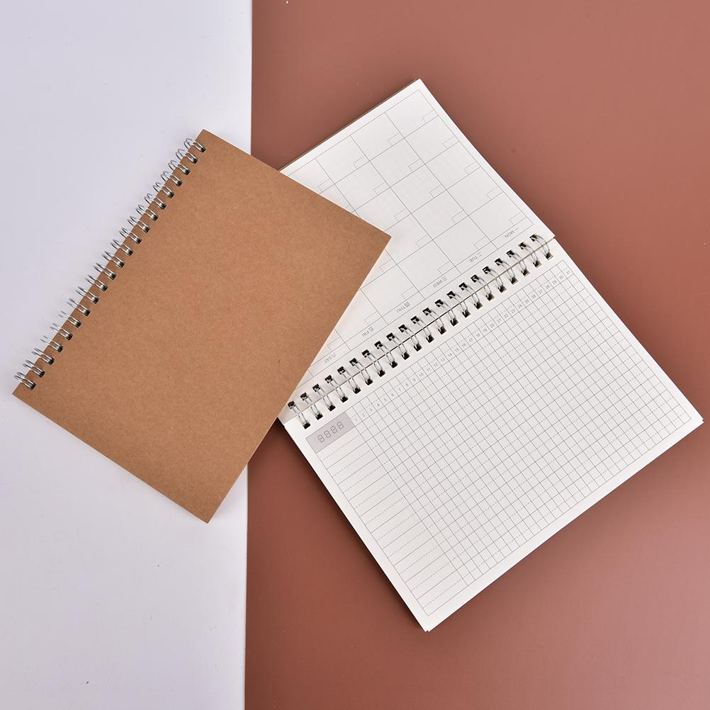 2018 2018 year planner day monthly krafts notebook diary day planner