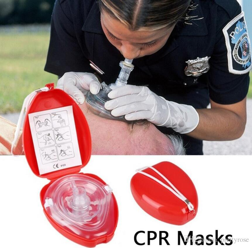 Reusable Cpr Resuscitator Rescue First Aid Masks Breathing Mask