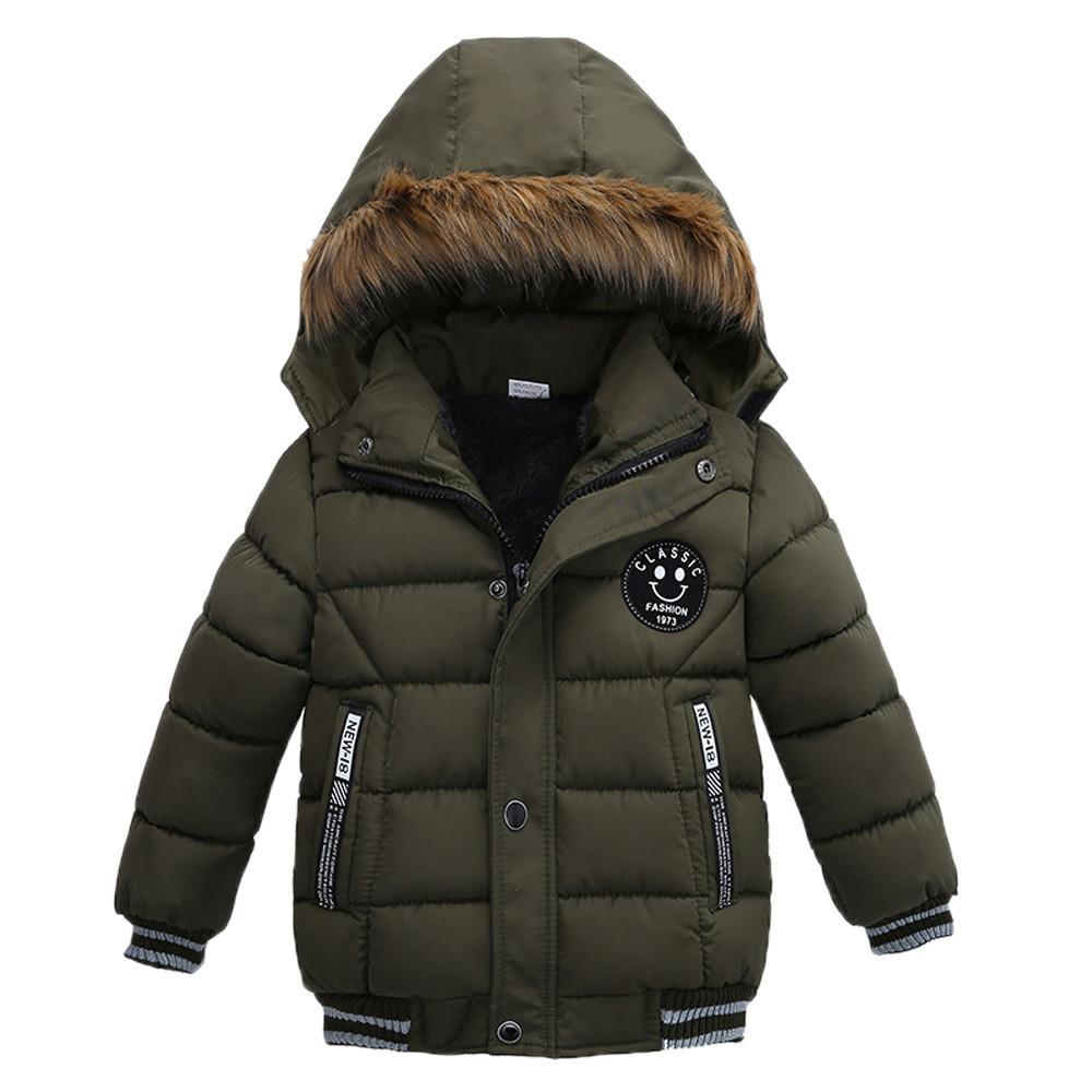 Acquista Genuini MUQGEW Giacca Bambini Cappotti Bambini Cappotti Ragazze  Cappotto Di Spessore Imbottito Giacca Invernale Abbigliamento Ragazzi  T A   23.08 ... e528642c357