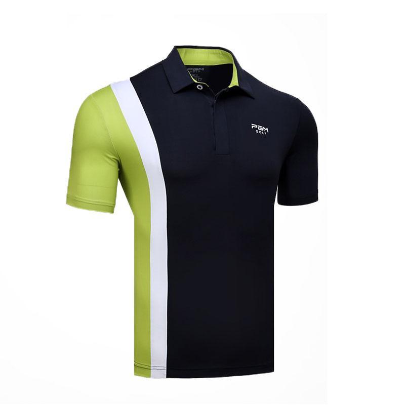 c596e7f66cfb3 Compre Camisa De Polo Deportiva Para Hombre Golf Trainning Ejercicio Para  Hombre Camisas De Polo Transpirable De Manga Corta De Tenis Tenis Tops  AA11825 A ...
