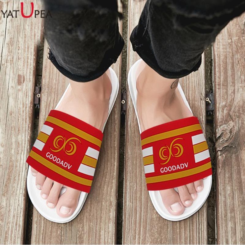 b945319c3b57 Men Summer Slippers Outdoor Indoor Slides Shoes Stripe Design Breathable  Beach Sandals Flip Flop Wedge Bath Flat Slides Slippers Cowboy Boots For  Women Rain ...