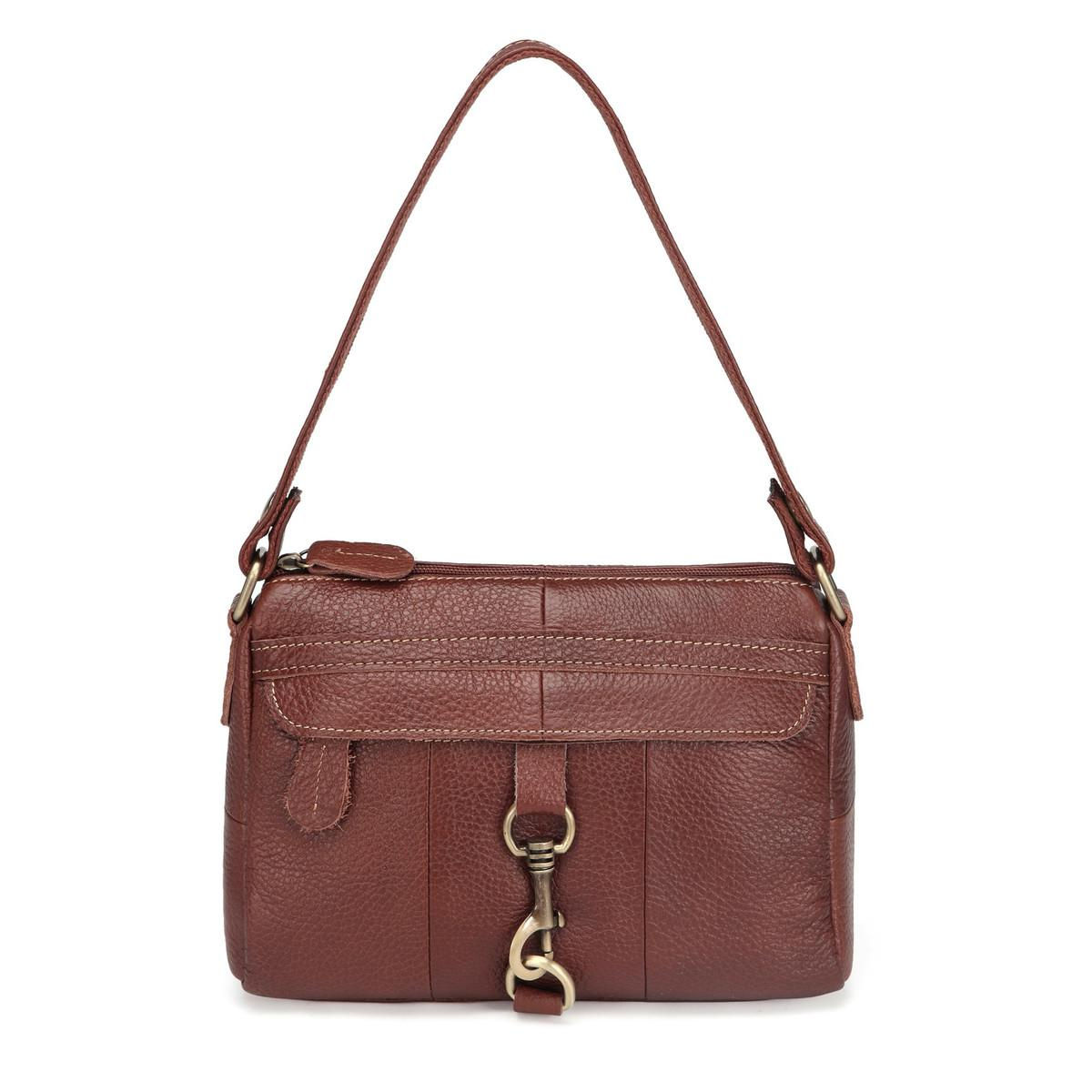 f9954b5ac4 Guaranteed 100% Cowhide Genuine Leather Women Messenger Bags Ladies  Shoulder Handbags Vintage Crossbody Bags For Girls MM2314 Wholesale  Handbags Cheap ...