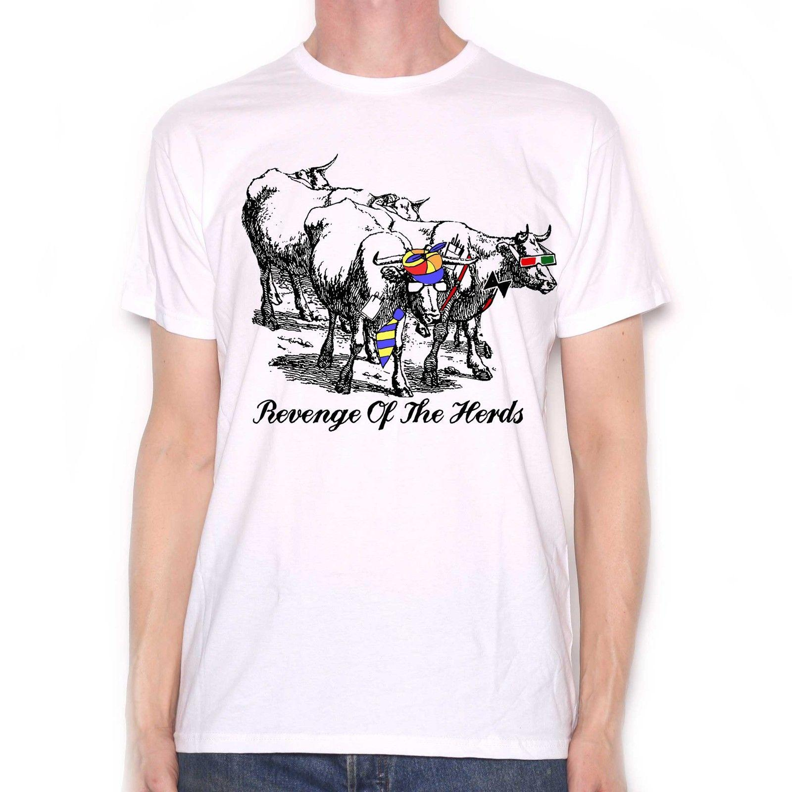 788e32c9 Revenge Of The Herds T Shirt Cow Bovine Old Skool Comedy T Shirt Graphic  Design 2018 High Quality Brand Men T Shirt Summer Hot Sale Black Shirts Long  Sleeve ...