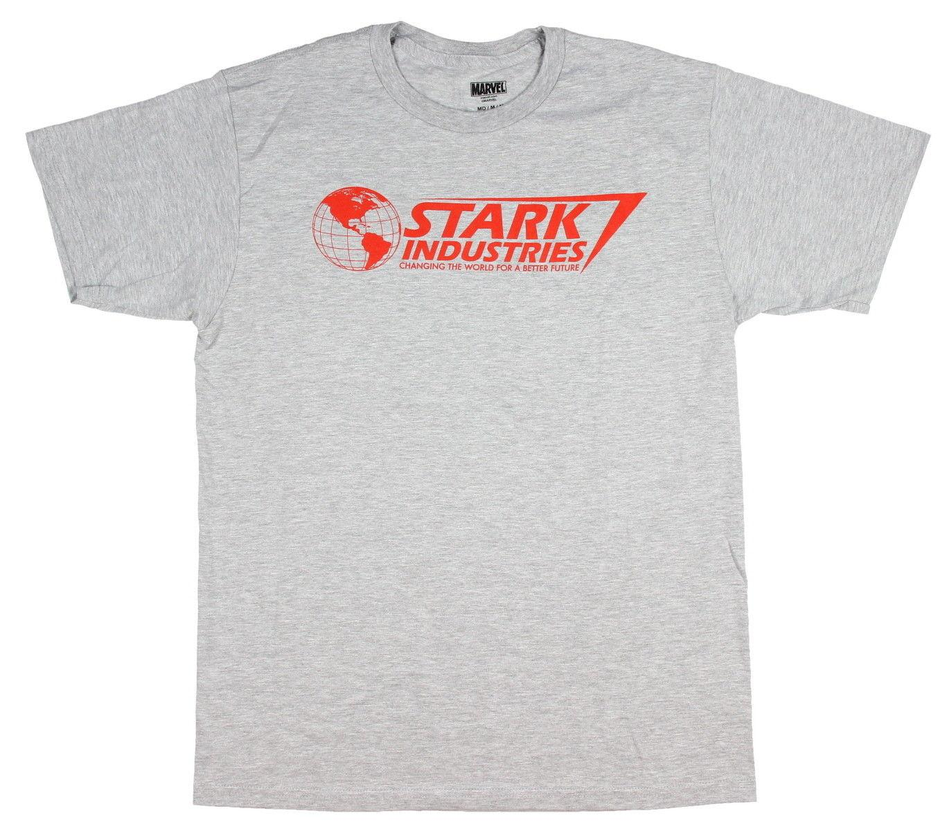 Grosshandel Marvel Iron Man Stark Industries Verandert Das T Shirt