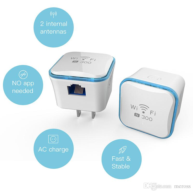 Meross Wi Fi Range Extender 300Mbps Wireless Repeater WiFi Signal Booster  2 4GHz IEEE 802 11 B/G/N Wireless Security Supporting Cheap Wifi Wifi Range
