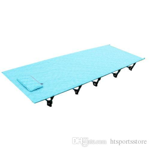 Camping Mat Hot Sale Camping Mat Ultralight Sturdy Comfortable Portable Folding Tent Bed Cot Sleeping Outdoor Camp Bed Aluminium Frame