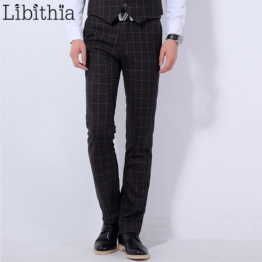 Hombre Azul Oscuro 36 Corte Vino De Hombre Pantalones De Traje Rojo De De  Masculino Compre ... 9a45da11e0f2