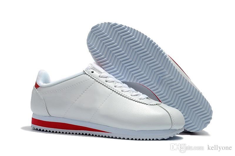 En yeni Cortez ayakkabıları mens koşu ayakkabıları spor ayakkabıları ucuz atletik deri orijinal cortez ultra moire ayakkabıları satış 36-44