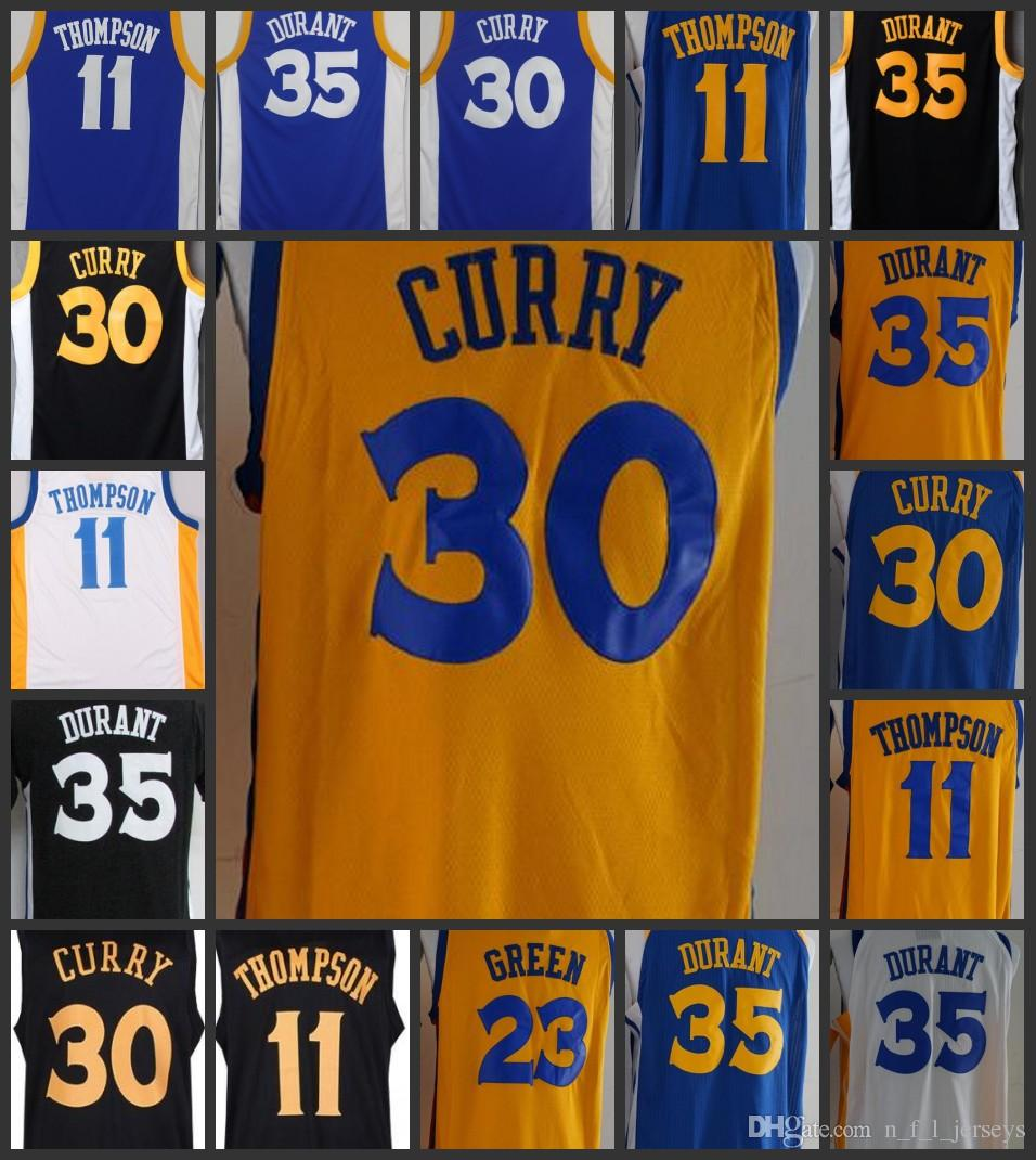 2019 New City Arrival Golden State Men Warriors Jersey  35 Kevin Durant 30  Stephen Curry 23 Draymond Green 11 Klay Thompson Jerseys Ball Pants From ... 6e3abde52