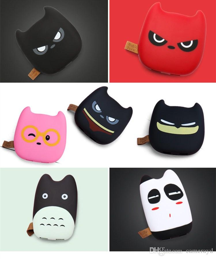 12000Mah Cartoon tortoise image Power Bank Phone Charger Portable External Battery Creative type for iPhone Android mobile phone Tablet PC