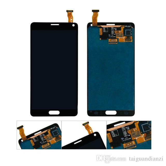 5.7 '' Pantalla de repuesto para Samsung Galaxy Note 4 N910 N910A N910F Note4 LCD original con pantalla táctil digitalizador, envío gratis
