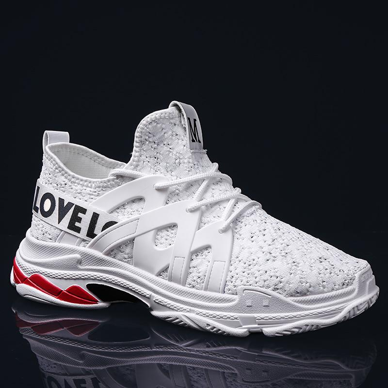 df30ac4bbb2a1b 2019 2018 New Arrival Men Air Mesh Tennis Shoes For Men Trainers Sport  Shoes Sneakers Male Jogging Lace Up Outdoor Athletic From Longanguo