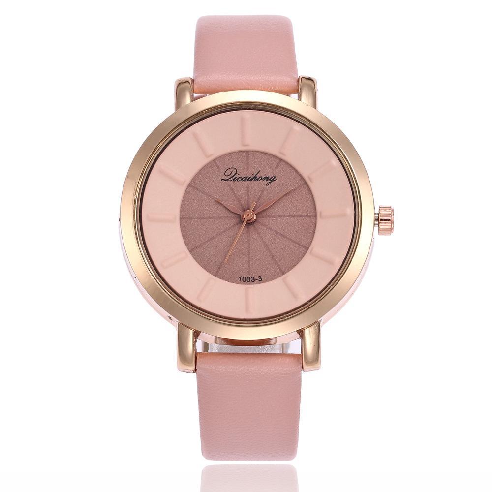 5bd58e249d8 Compre Venda Quente De Luxo Top Relógios Das Mulheres De Negócios Senhoras  Relógio De Marca De Couro De Quartzo Esporte Barato Relógio De Pulso Horas  ...