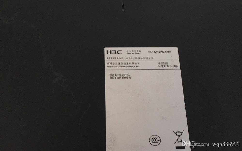 100% geprüfte Arbeit Perfekt für H3C SMB-S1526 H3C MSR20-15 H3C SMB-S1650-CN H3C LS-3100V2-52TP