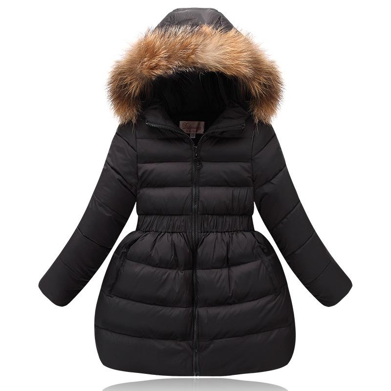 bbe09a0d1831 Winter Baby Girl Clothes Children S Thick Warm 80% White Duck Down ...