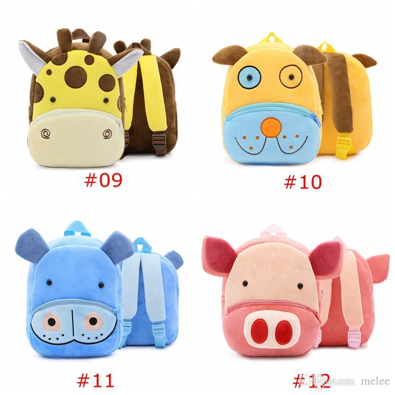 INS 2-4Y Единорог зоопарк дети школьные сумки плечи рюкзак для детского сада животных ребенка раннего детства облегчить чрезмерное бремя мешок