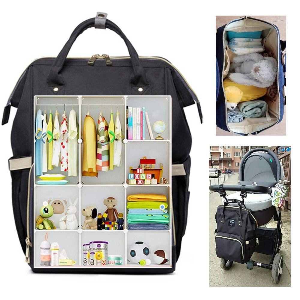 0580b6f0c475 2019 Baby Stuff Diaper Bag Mom Travel Stroller Bag Nappy Backpack Bolsa  Maternidade Baby Care Mummy Maternity Nursing Handbag From Namenew