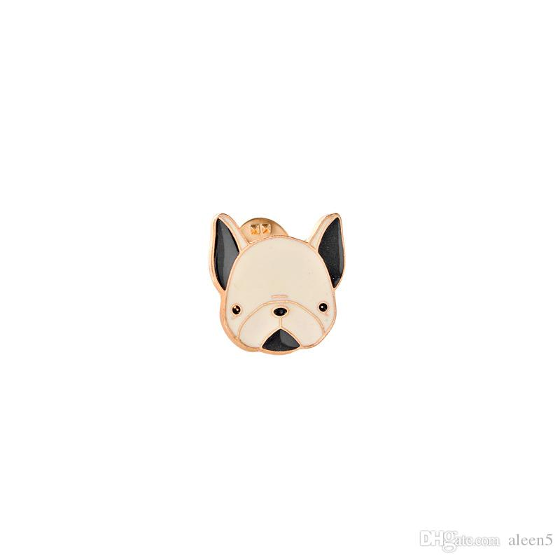 2018 Loving pet dog clothes lips letters Brooch Pins Collar Bag Jacket Brooches Jewelry For Women Girl
