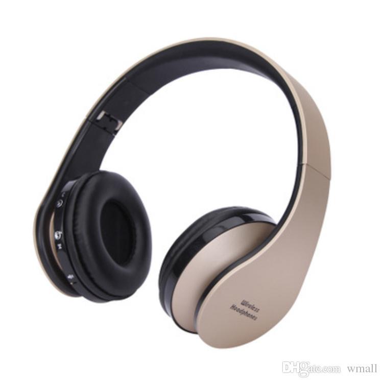 جودة عالية طوي اللاسلكية DJ ستيريو الصوت بلوتوث ستيريو سماعة يدوي سماعات سماعات أذن مع صندوق البيع بالتجزئة