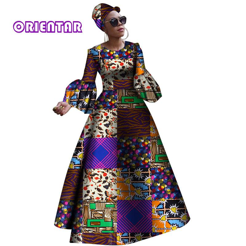 3b897d182fe5f 2018 African Dresses for Women New African Dashiki Rche Dress for ...