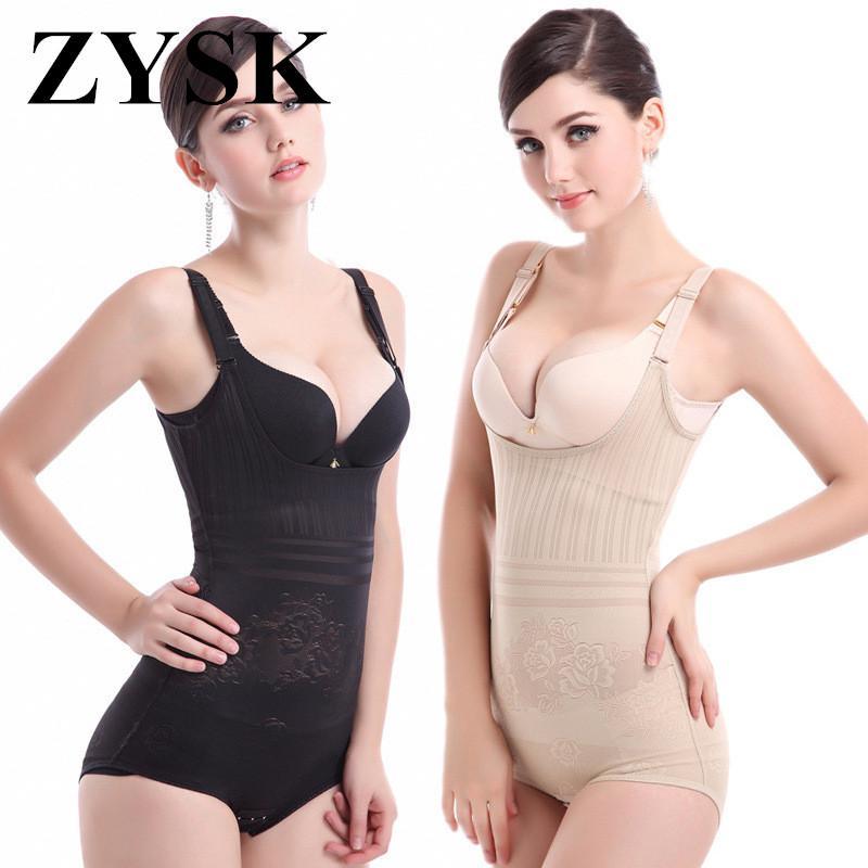5a028d12d4460 ZYSK Hot Shaper Bodysuits Women Postpartum Briefs Corset Waist ...