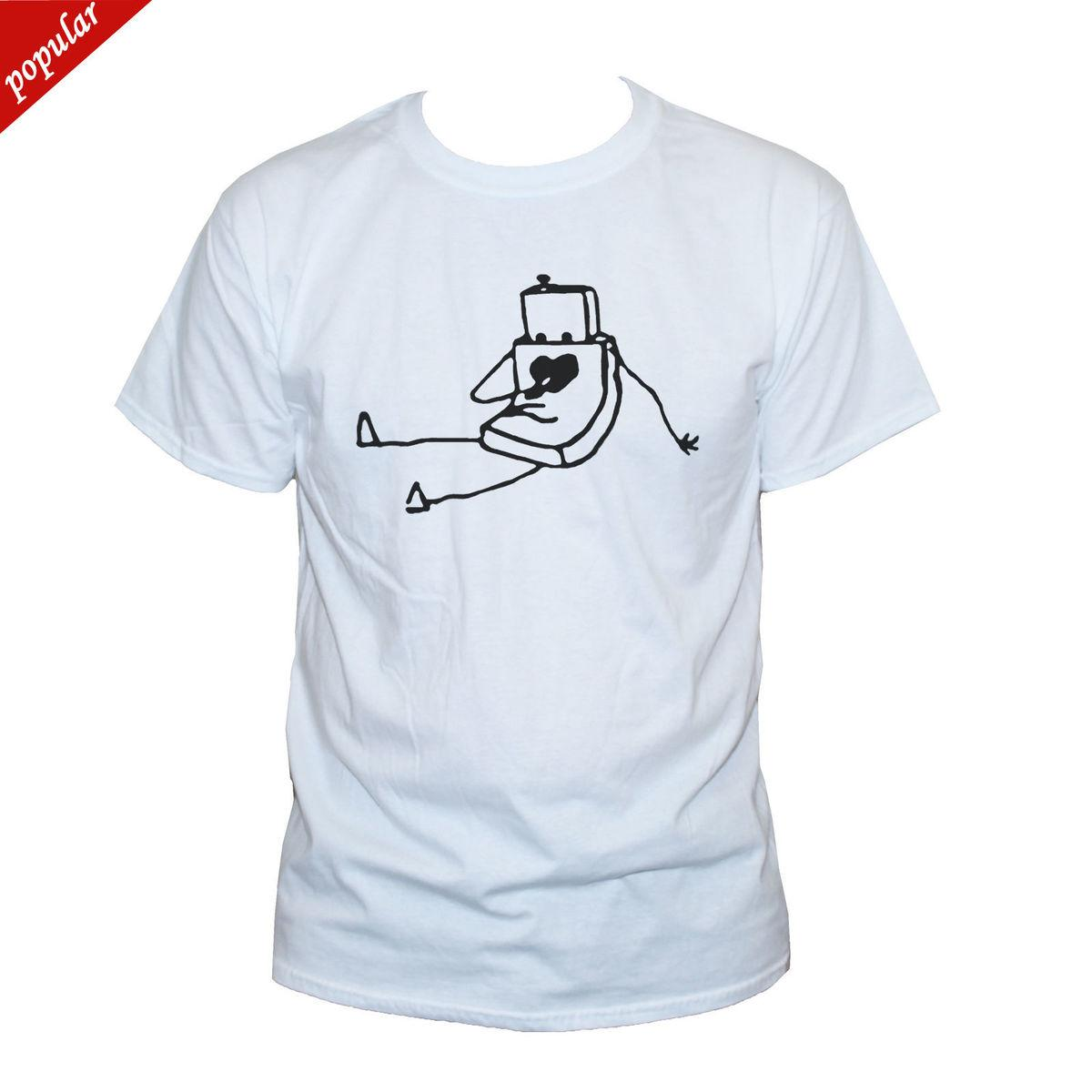 b8f432e25 Robot T Shirt Cute Funny Graphic Printed Retro Tee Mens/Womens S M L XL XXL  Funny Printed T Shirts Cool Tee From Customteemall, $10.67| DHgate.Com