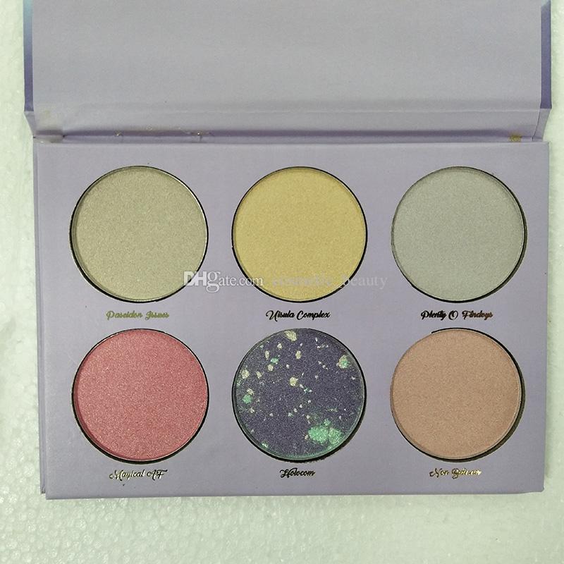 Stokta var!! Kozmetik Aşk Luxe Güzellik Fantezi Paleti Makyaj İnanılmaz Güzel Vurgulayıcılar Göz Farı 6 Renkler Göz Farı