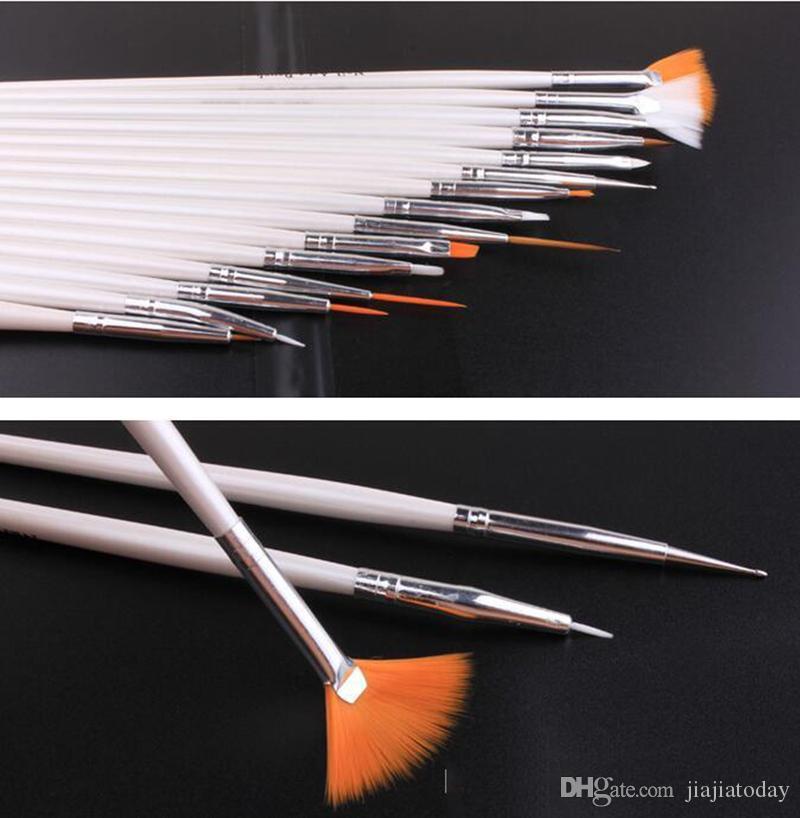 / Set Nail Art Pen Peinture Brosse Manucure Outils Cosmétique Nail Art DIY Draw Dotting Stylo Conseils Set Outils Pro Nail Art Liner Design Kit