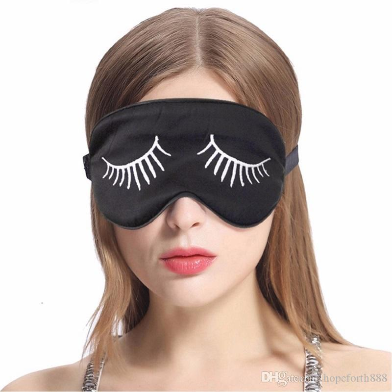 eeed08252d3 New Arrive Natural Silk Sleep Mask Blindfold Super Smooth Eye Mask Eyelash  Pattern Sleeping Face Mask Best Sleep Masks Funny Sleep Masks From  Hopeforth888
