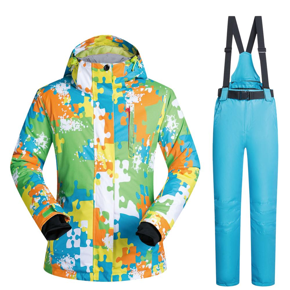 15c39f213d9 2018 New Arrival Brand Ski Suit Male Windproof Waterproof Breathable ...