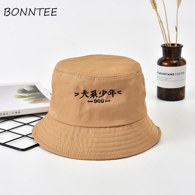 Women Hats Casual Sun Shading Outdoor Kawaii Letter Printed Colorful Bucket  Hats Womens Chic Daily Japanese Style Sports Lovely Ladies Hats Floppy Hats  From ... d0d85e4ce6f