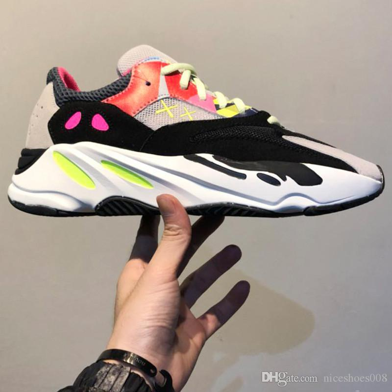 e3f93316ba5d4 2019 2018 Hot Sela 700 Kanye West Wave Runner 700 Sneakers Authentic Running  Shoes Athletic Sneaker With Original Box Size Eur 36 45 From Niceshoes008