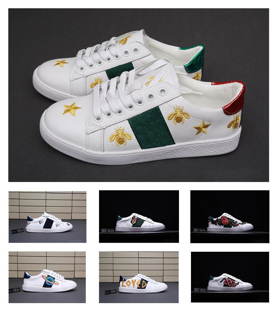 439b9d9156 Acquista Gucci Men Shoes Le Sneakers Più Vendute Ricamate Scarpe Da Corsa,  Lettere Ricamate, Cosmo, Ape, Testa Di Lupo, Scarpe Da Uomo Scarpe Da  Jogging ...