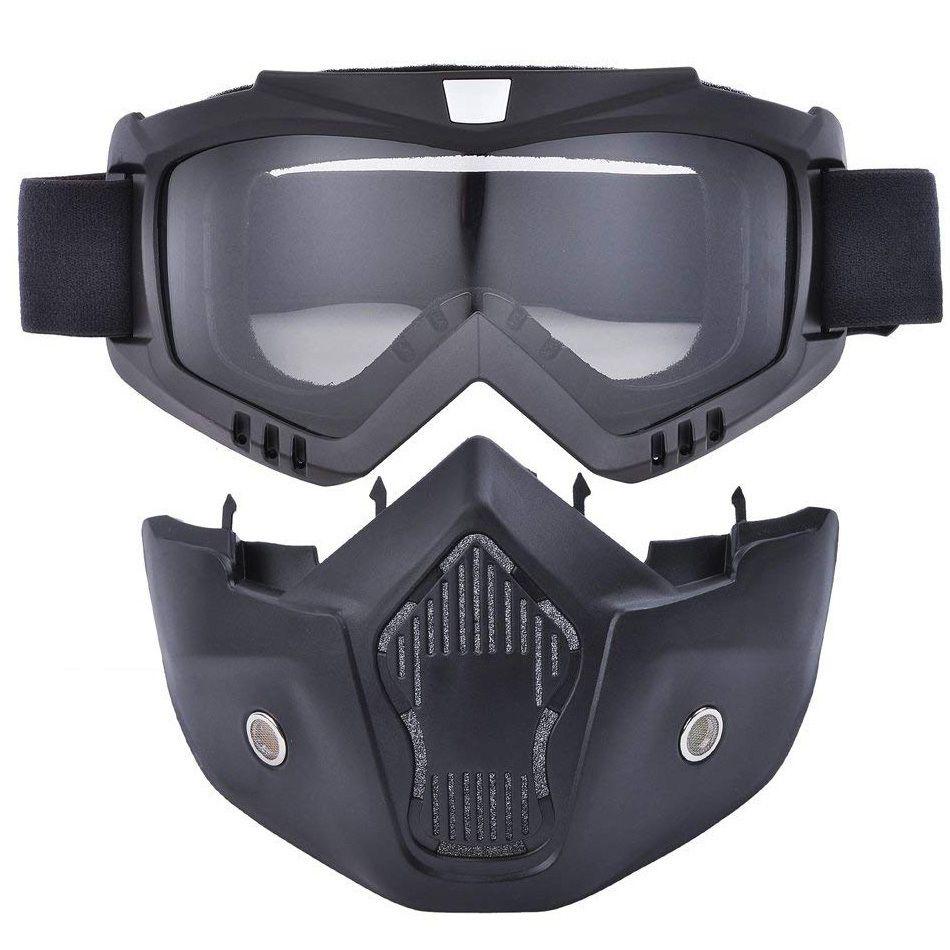 742c8fc6a8 Sports Motorcycle Eyewear Polarized Cycling Goggle UV400 Men Women ...