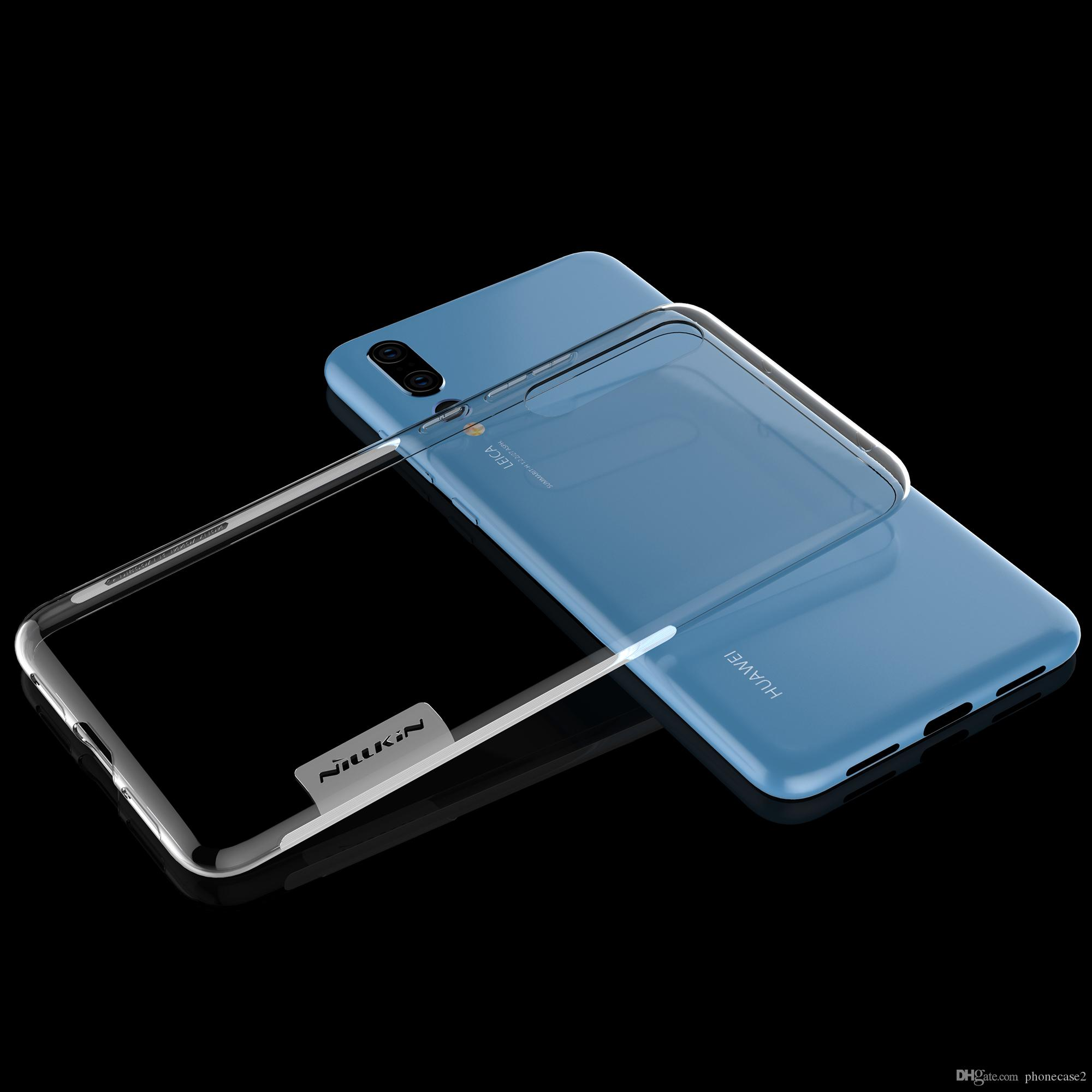 new arrivals 43a8c 59495 Huawei P20 Case Huawei P20 Pro Cover Case NILLKIN Clear Nature TPU case For  Huawei P20/P20 Plus Transparent Silicone Phone Cases