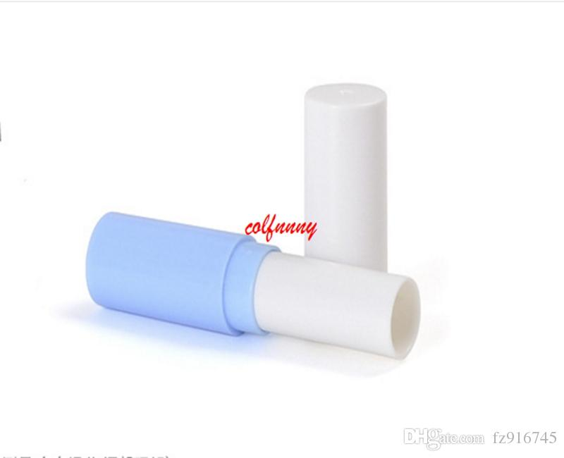 Fast Shipping Empty Lipstick Tube Ivory Plastic Lip Balm Container Small Cosmetic Lipstick Gloss Sub-bottling