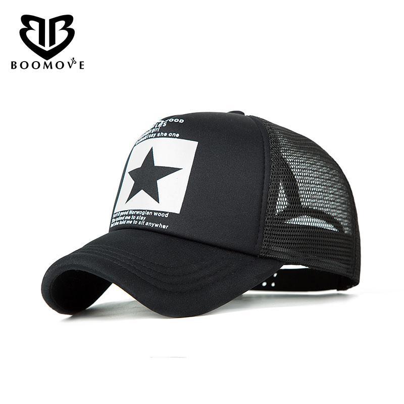 746b888e524 BOOMOVE Fashion Brand Baseball Cap Outdoor Baseball Hat Breathable ...
