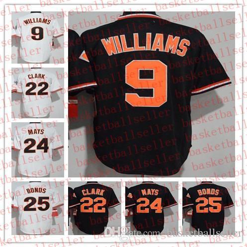 72d3d8ee 2019 MEN SF Hotsale 24 Willie Mays 25 Barry Bonds 9 Matt Williams 22 Will Clark  Baseball Jersey From Basketballseller, $19.97   DHgate.Com