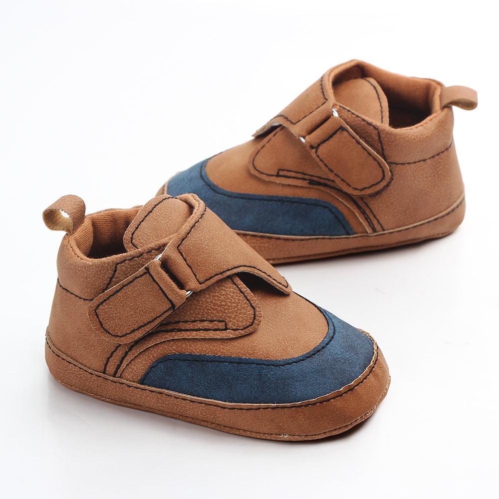 3fba5ef5b8 Compre Bebê Recém Nascido Sapatos Infantis Da Criança Macio Sola Bebê  Menina Menino Crianças Primeiros Caminhantes Macio Sole Sneakers Mocassins  Casuais De ...