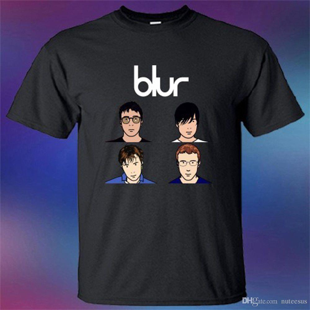 c262f978a Blur Band Personels Rock Band Cartoon T Shirt Shirt Designer Customised T  Shirts From Tshirs4u, $10.99| DHgate.Com