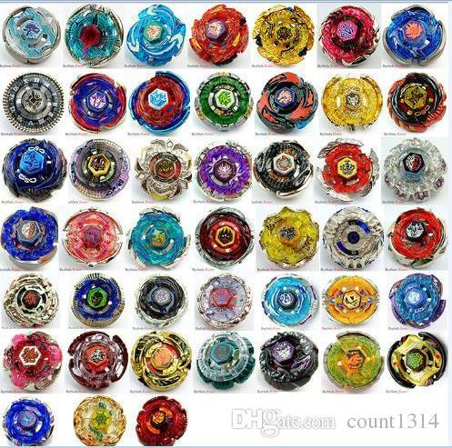 2018 Best Birthday Gift Free Shipping Beyblade Metal Fusion Metal beyblade set as children gifts 42 Different 4D beyblade with launch