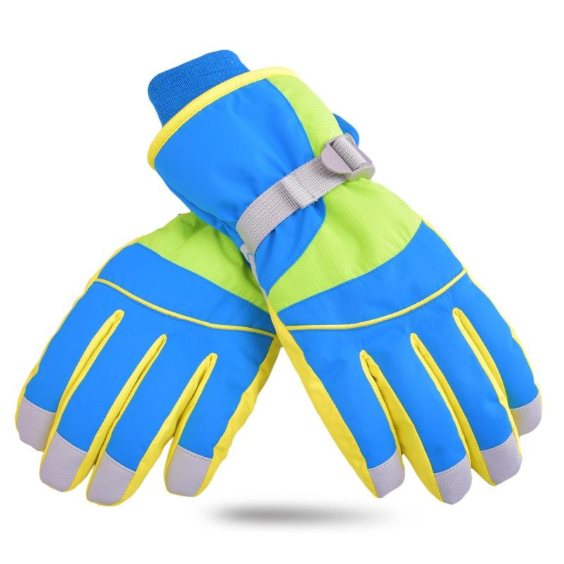 Professional Waterproof Windproof Ski Gloves Girls Boys Adult Winter ... af6640c30