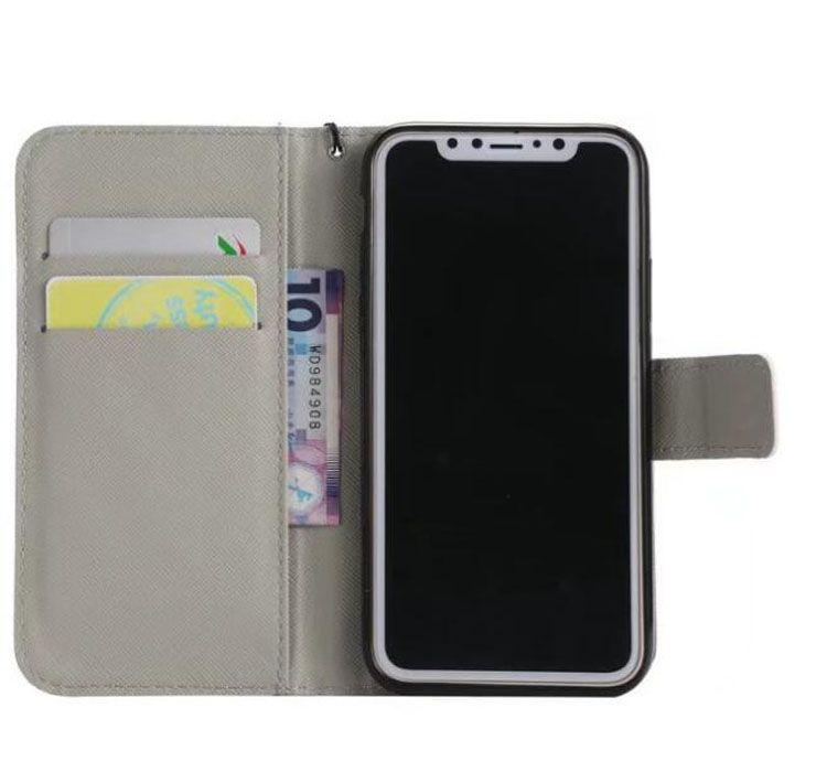 برج ايفل Tiger Dont Touch My Phone فليب محفظة حامل بطاقة PU حقيبة جلد لفون X XS ماكس XR 8 7 6 6S زائد 5S