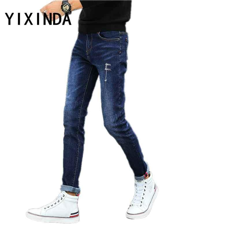 Taille Yixinda Pantalon Hommes Classic Acheter Jeans Droite Grande g4vzfxWn