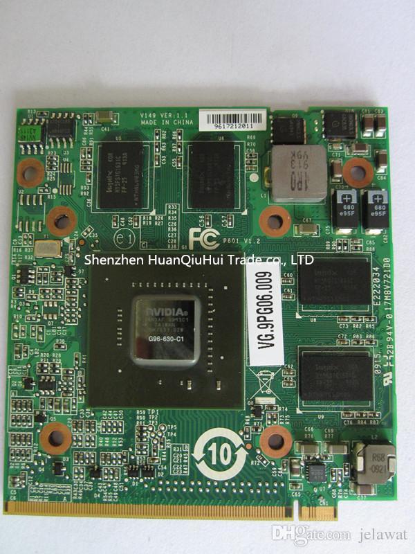 الجملة 4930G 6920G 6930G الكمبيوتر المحمول NVIDIA Geforce 9600M 512M MXM II G96-630-C1 VGA Video Graphics Card لشركة أيسر أسباير