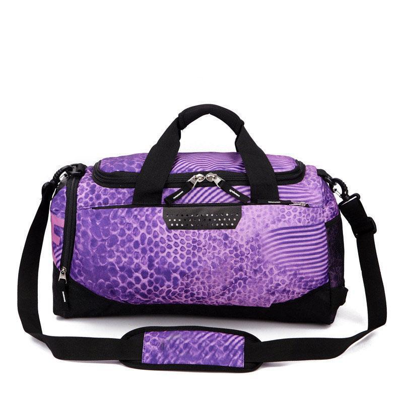 Brand Designer Duffel Bags Women Men Handbags Large Capacity Travel Duffle  Bag Plain Striped Waterproof Sport Bag Shoulder Bags Laptop Bags Totes From  ... ea010e792a