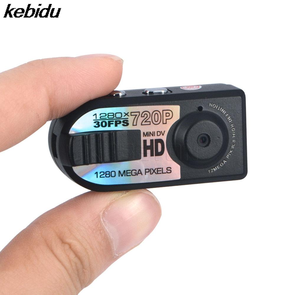 kebidu 10 Pcs 2017 Full HD 720P Mini DV DVR Camera mini Camcorder Night Q5 miniature camera infrared night vision shoot